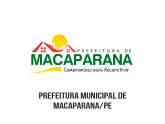 Prefeitura Municipal de Macaparana/PE
